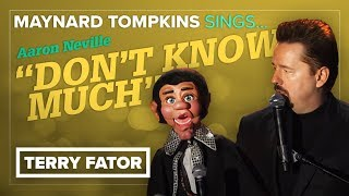 """THROWBACK! Maynard Tompkins sings """"Don't Know Much"""" - TERRY FATOR (Live from Las Vegas)"""