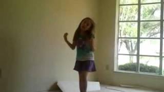 my niece dancing