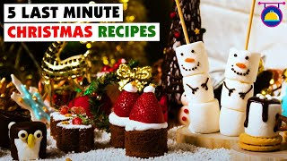5:05 Now playing 5 Last Minute Christmas Recipes | DIY Dessert Decoration | Christmas Food Hacks by Deli Wow - Download this Video in MP3, M4A, WEBM, MP4, 3GP