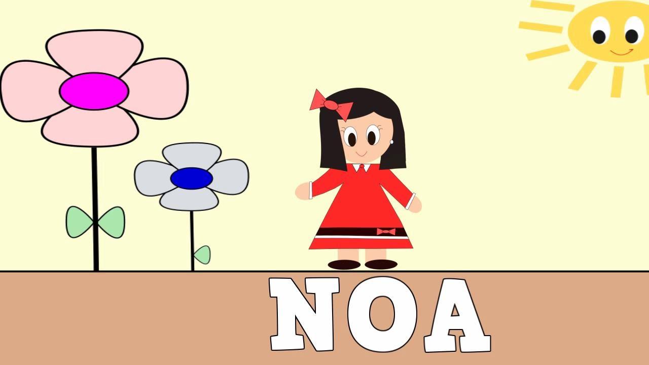 Aprender a Leer y Escribir NOA - Vídeos educativos para Niños y Bebés - Paty y Poty