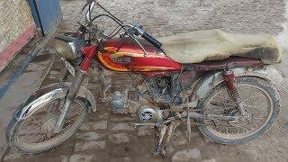 Old Broken Motorcycle Full Restoration