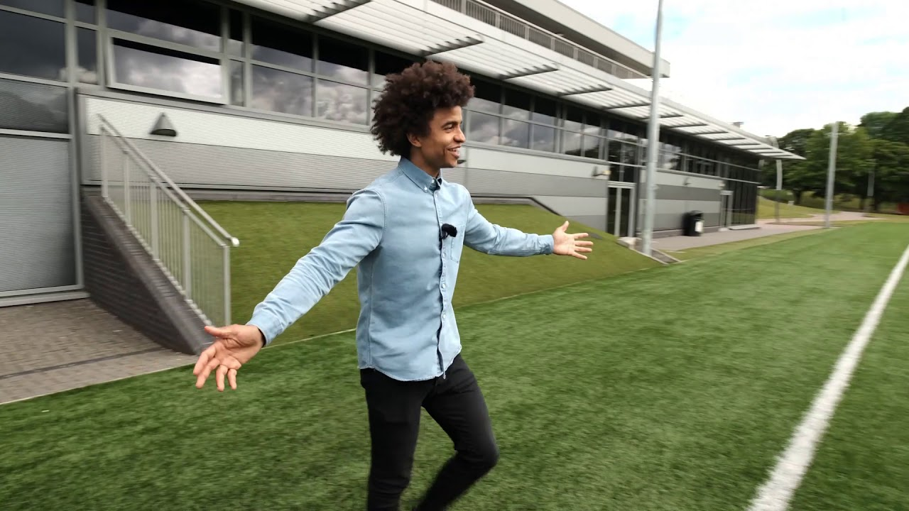 Radzi takes you on a tour of our sports centre