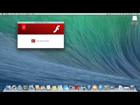 Adobe Flash Player for Mac  tutorial