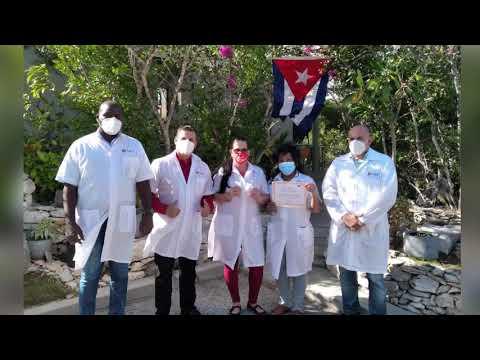 Premio a Brigada Henry Reeve Cubana en Islas Turcas y Caicos