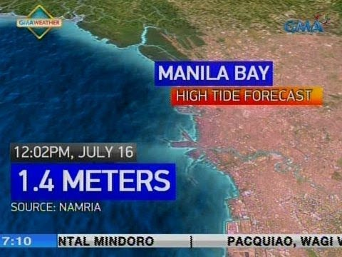 [GMA]  UB: Weather update as of 7:10 a.m. (July 16, 2018)