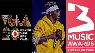 Shatta Wale to bag more awards in VGMA 20th edition just as he did in the 3 music awards