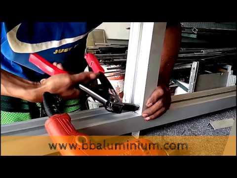 Video Merakit Kusen Aluminium