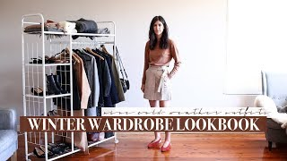 Winter Wardrobe Lookbook 2018 - 9 Minimal Style Outfits | Mademoiselle