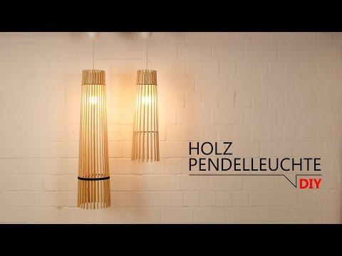 DIY - Holz Pendelleuchte // FREE DOWNLOAD TEMPLATES