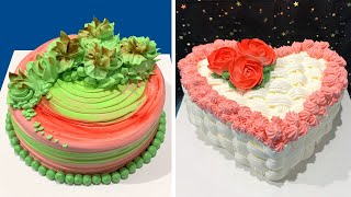 Perfect Cake Decorating Tutorials For Beginners 🎂 So Yummy Chocolate Cake Recipes Ideas