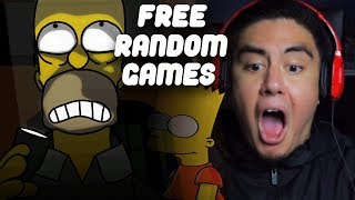 SOMETHING'S SERIOUSLY WRONG THE SIMPSONS   Free Random Games
