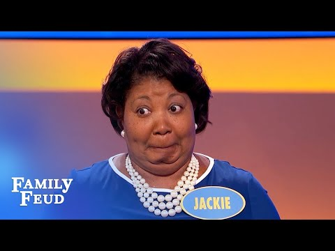 OUCH! Butt implants? Don't ride THIS!!! | Family Feud