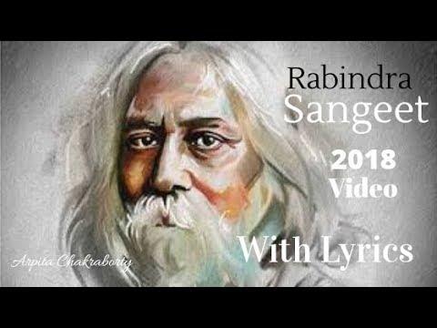 Amar Mallika Bone || Rabindra Sangeet ||AMAR MOLLIKA BONEY (Lyrics) || Bicharak || HD Video Song