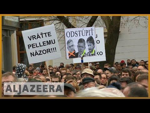 🇸🇰 Slovakia police chief to resign after journalist's murder   Al Jazeera English