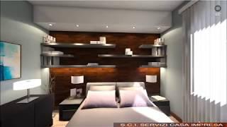 Camera due persone - Rendering 360 gradi