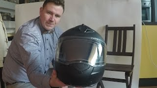 clean helmet - no chemicals needed
