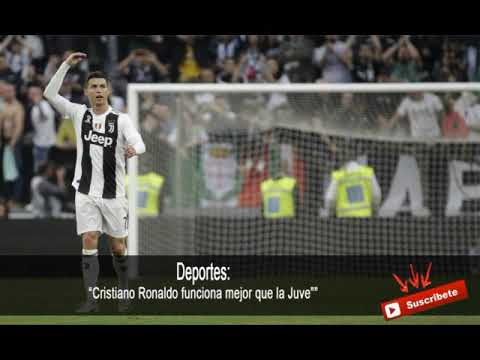 Cristiano Ronaldo funciona mejor que la Juve