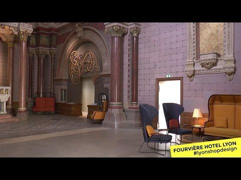 Fourvière hôtel Lyon - Finaliste 2017 #lyonshopdesign