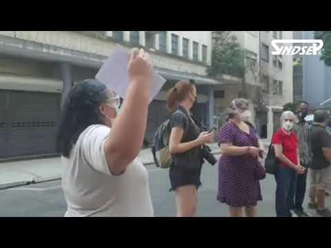 Sindsep participa de ato em defesa da Biblioteca Monteiro Lobato