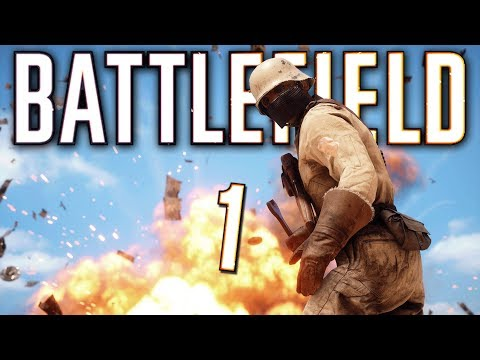 FIRST TIME PLAYING BATTLEFIELD 1! - Battlefield 1 Funny Moments *important*