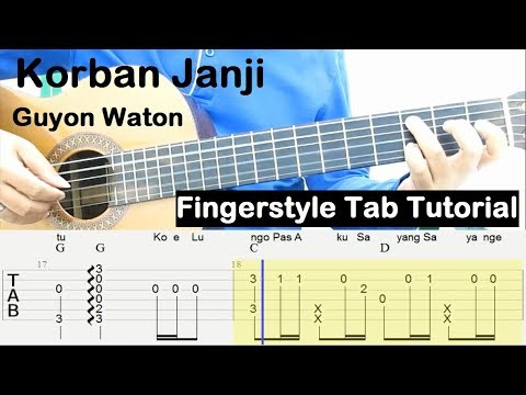 , title : 'Belajar Gitar Fingerstyle Korban Janji Guyon Waton Tab Tutorial'