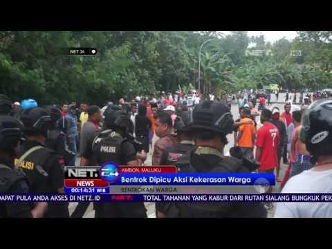 Antisipasi Bentrok, Warga di Ambon Maluku Diungsikan - NET24