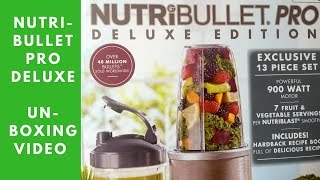 Nutribullet pro 900 series review nutribullet pro deluxe edition 900 unboxing fandeluxe Image collections