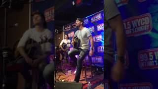 Brett Young story about Left Side of Leaving