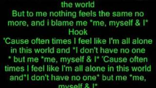 Akon Me Myself & I Hq (Lyrics in vidieo)