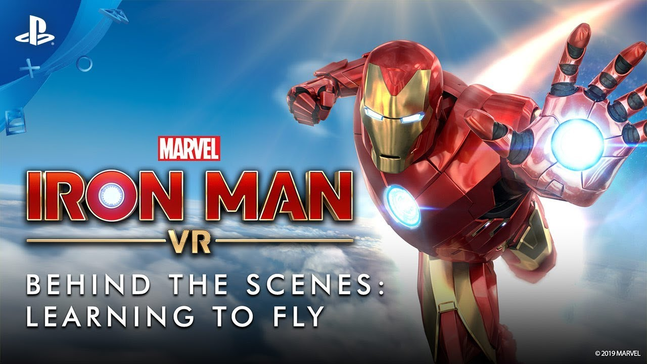 How Marvel S Iron Man Vr Nails Flying Playstation Blog