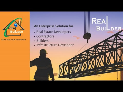 Real Builder | ERP Solution for Real Estate Industry | Dataman.in