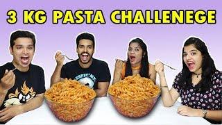 3 KG PASTA EATING CHALLENGE   PASTA EATING COMPETITION   3 kg पास्ता ईटिंग चॅलेंज