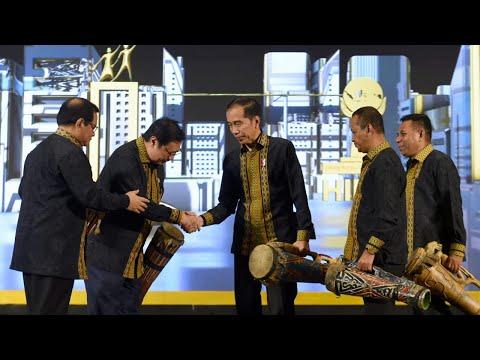 Presiden Jokowi Membuka Musyawarah Nasional XVI HIPMI, Jakarta, 16 September