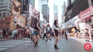 (G)i-dle - FAKE LOVE / BTS (Dance Cover in New York)