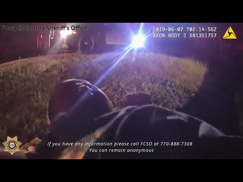 Georgia sheriff's office realeased dramatic body-cam video showing the rescue of a newborn girl who was found alive inside a plastic bag in the woods. (June 25)