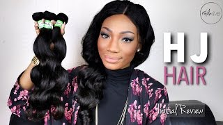 Aliexpress HJ WEAVE BEAUTY | Brazilian Body Wave Hair (Initial Review)