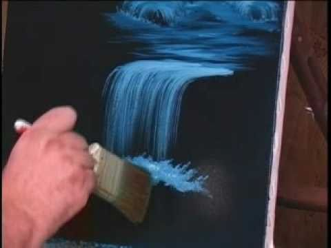 how to paint water and waterfalls tutorial 10 videos