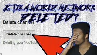 ETIKA DELETES HIS YOUTUBE CHANNEL ON STREAM?!?!