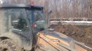 """ПОЛЕВОЙ РЕМОНТ """"как правильно засадить трактор"""" #2"""