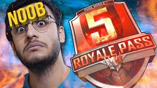 PUBG MOBILE / PC LIVE: RANDOM TEAM TROLLING | SEASON 5 ROYAL PASS! | NEW UPDATE
