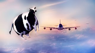 Летающая Корова - весёлая детская шуточная песенка / Наталия Лансере
