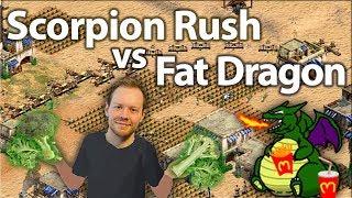 TheViper Scorpion Rush vs Fat Dragon