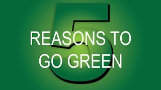 5 Reasons Your Remodeling Company Should Go Green