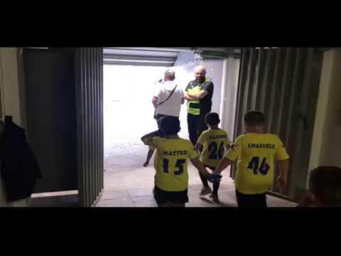 immagine di anteprima del video: Ingresso allo Stadio Olimpico della Scuola Calcio