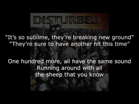 Disturbed - Sons Of Plunder Lyrics (HD)