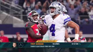 FOX Sports' Troy Aikman: Dak Prescott Deserves to Get Paid | The Dan Patrick Show | 9/23/19