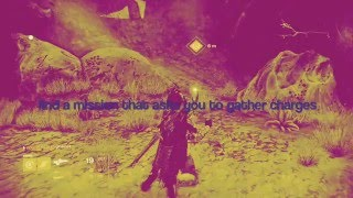 Destiny Red Bull Mission: make the vanguard smile quest part 1