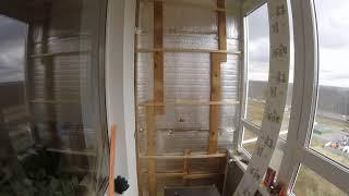 Утепляем лоджию. Комната на балконе. Часть 2