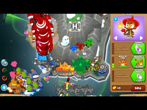 BLOONS TD 6 - BEST RACE STRATEGY AND TESTING - смотреть