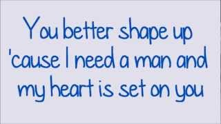 Glee - You're The One That I Want (Lyrics) HD